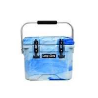 Camp-Zero 10 Premium Cooler in Blue Swirl